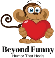 beyond funny logo